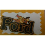 CLOTH STICKER - FORD