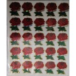 SMALL SIZE ROSE STICKERS