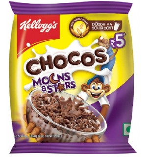KELLOGG'S CHOCOS MOONS AND STARS MINI PACK RS 5