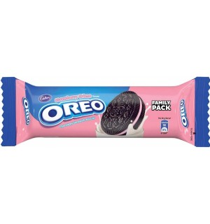 OREO STRAWBERRY CREAM BISCUIT 30RS