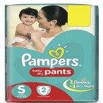 PAMPERS BABY PANTS - S SIZE