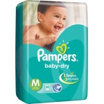 Pampers Baby Dry Size M.