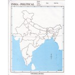 INDIA - POLITICAL MAP