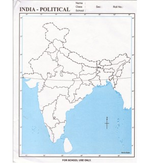 Map Of India Political.India Political Map