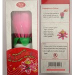 BIRTHDAY CANDLE - SPARKLING MUSIC FLOWER CANDLE RS50