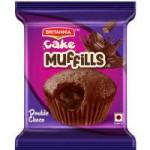 CAKE MUFILLS DOUBLE CHOCO