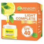 GARNIER SKIN NATURALS  LIGHT COMPLETE FAIRNESS SERUM CREAM SPF40