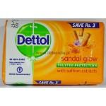 Dettol Sandal Glow Soap 75g