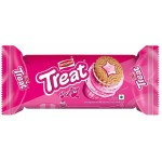 TREAT STRAWBERRY CREAM BISCUIT RS10